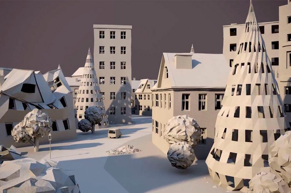 Ciudad de papel (Paper City)