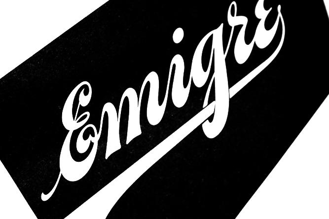 Logotipo Revista Emigre