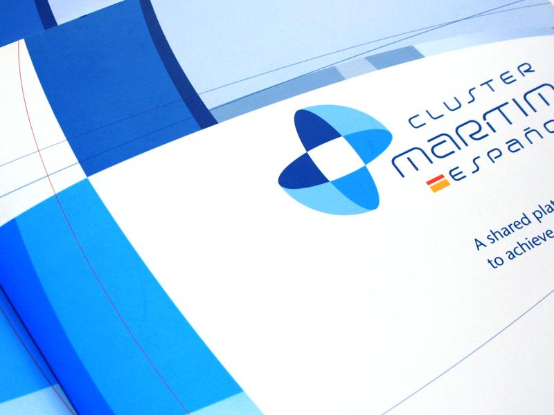Clúster Marítimo Español 1. Diseño gráfico, A. Alejandro Lopez Martinez