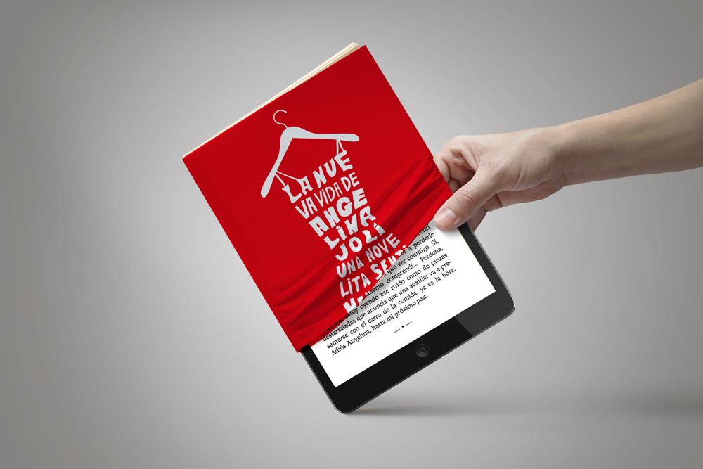 La nueva vida de Angelipnajolí lectura en tablets. Diseño gráfico, A. Alejandro Lopez Martinez