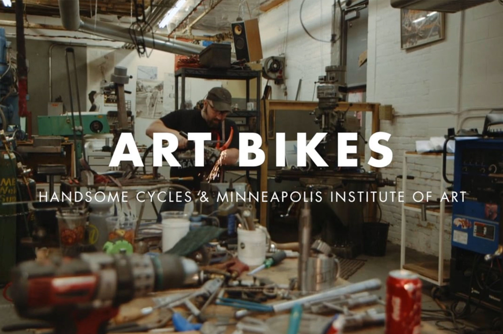 Art Bike Handsome cycles & Minneapolis Institute of Art