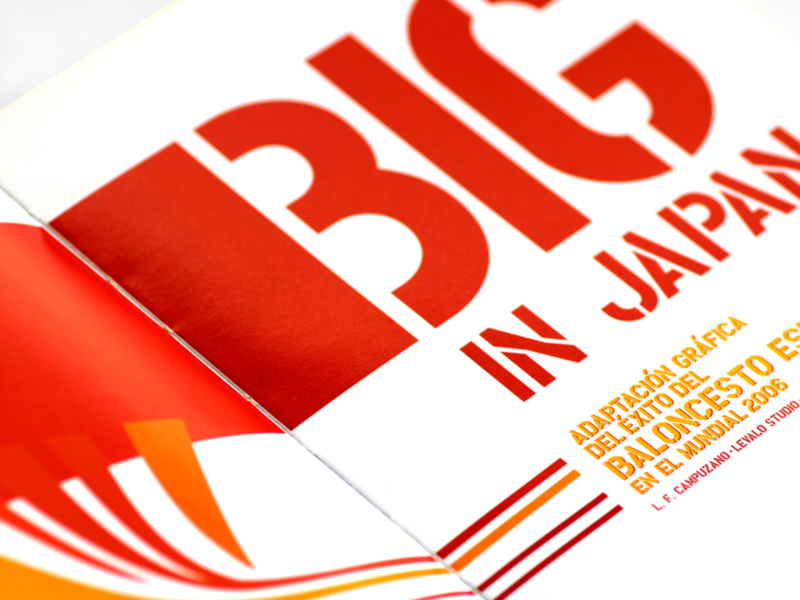 Comic Big in Japan Federacion Española Baloncesto-2. Diseño A. Alejandro Lopez Martinez