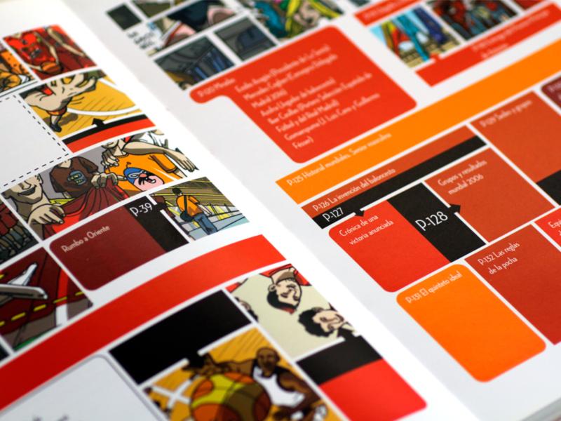 Comic Big in Japan Federacion Española Baloncesto-3. Diseño gráfico, A. Alejandro Lopez Martinez
