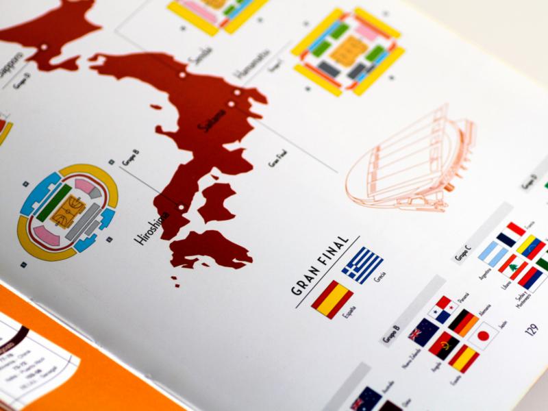 Comic Big in Japan Federacion Española Baloncesto-7. Diseño gráfico, A. Alejandro Lopez Martinez