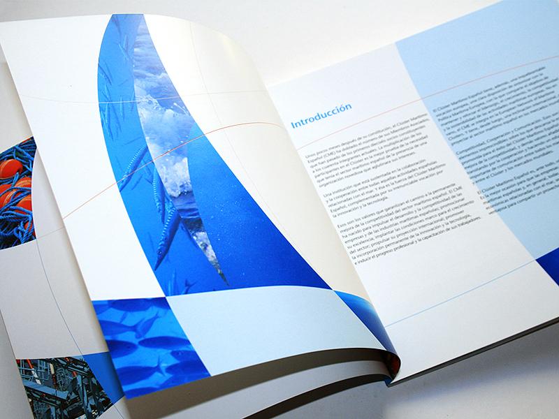 Clúster Marítimo Español 2. Diseño gráfico, A. Alejandro Lopez Martinez