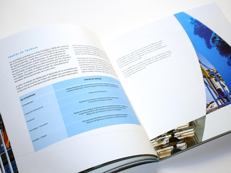 Clúster Marítimo Español 5. Diseño gráfico, A. Alejandro Lopez Martinez