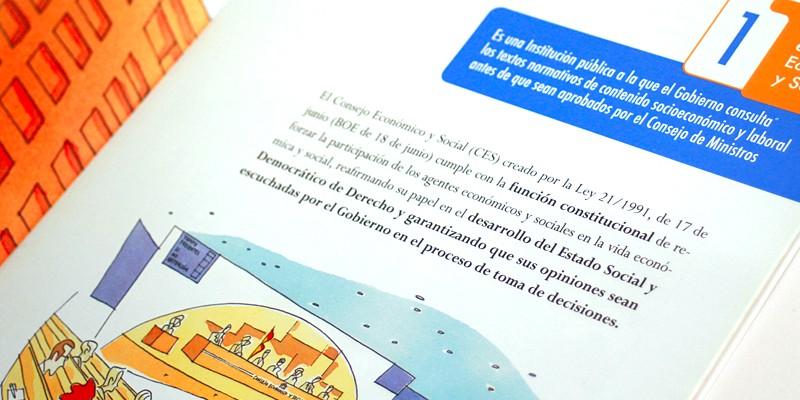 Consejo Economico Social CES 3. Diseño gráfico A. Alejandro Lopez Martinez