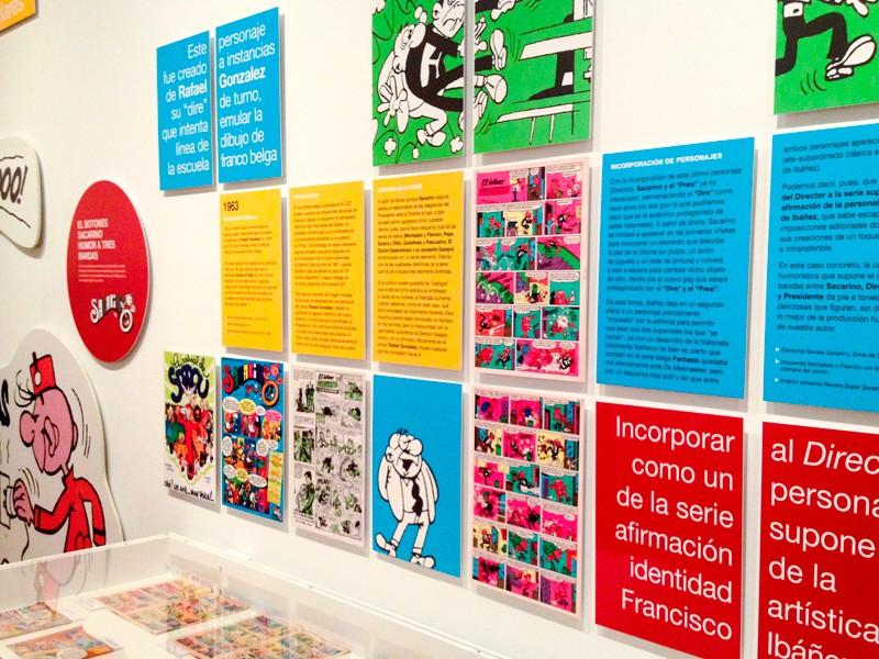 Expo Francisco Ibanez CBA. Diseño gráfico, A. Alejandro Lopez Martinez