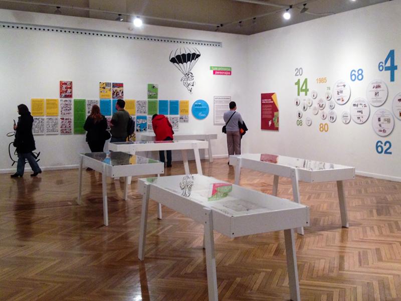 Exposición Francisco Ibanez el mago del humor. Diseño gráfico, A. Alejandro Lopez Martinez