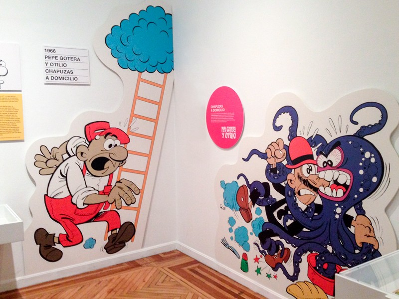 Expo Francisco Ibanez CBA de Madrid. Diseño gráfico, A. Alejandro Lopez Martinez