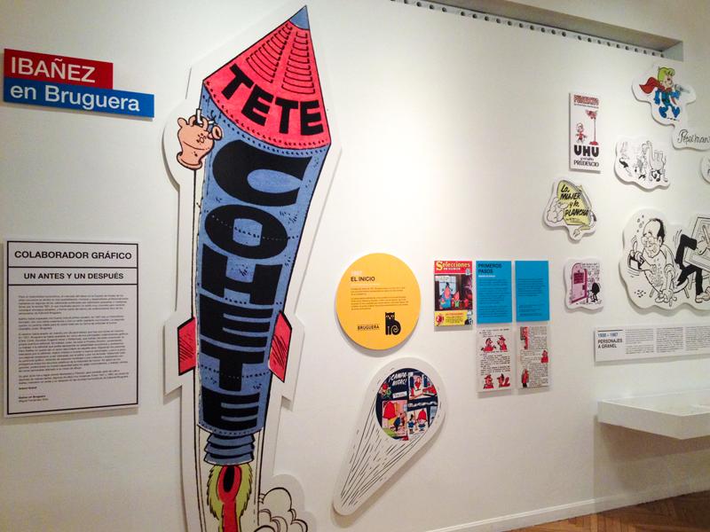 Exposición Francisco Ibáñez en el CBA. Diseño gráfico, A. Alejandro Lopez Martinez