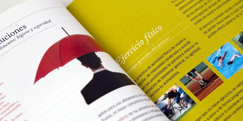 Guia para gais y bisexuales con VIH Ministerio Sanidad 6. Diseño gráfico, A. Alejandro Lopez Martinez