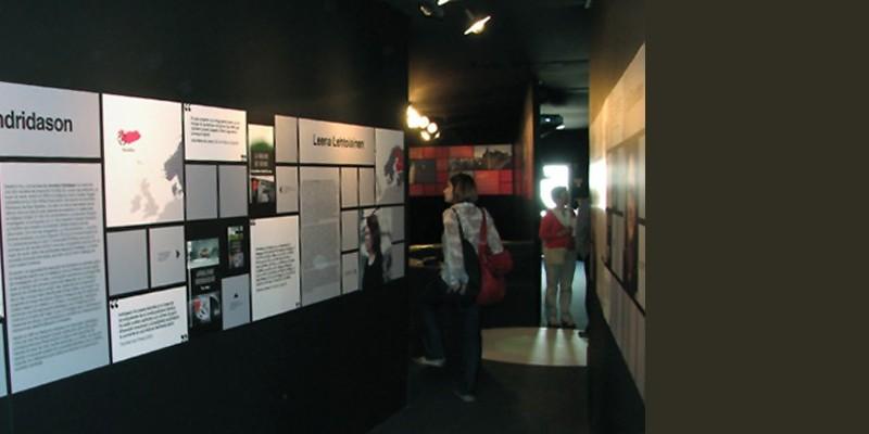 Pabellón Feria del Libro de Madrid. Novela Negra Nórdica 2. Diseño gráfico, A. Alejandro Lopez Martinez