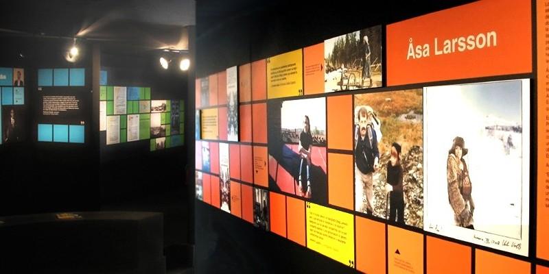 Pabellón Feria del Libro de Madrid. Novela Negra Nórdica 3. Diseño gráfico, A. Alejandro Lopez Martinez