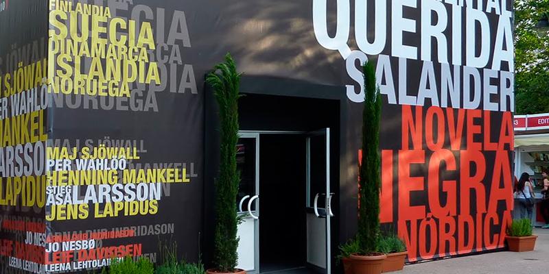Pabellón Feria del Libro de Madrid. Novela Negra Nórdica 4
