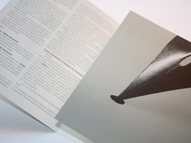Premio Teatro Tirso Molina 2. Diseño gráfico, A. Alejandro Lopez Martinez