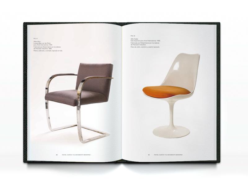 Rafael Garcia, páginas catálogo Museo nacional de Artes Decorativas 2. Diseño gráfico, A. Alejandro Lopez Martinez