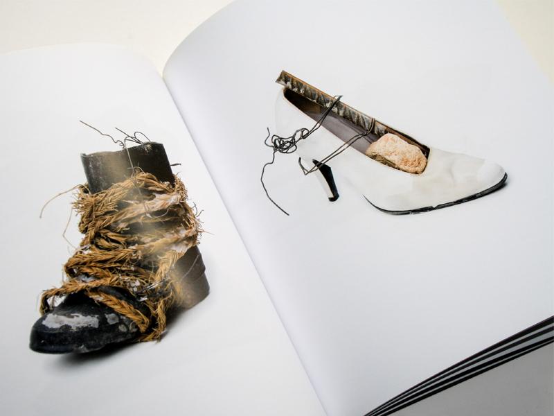 Ruth Pettus. Exposición en Santander De Paso 7. Diseño gráfico, A. Alejandro Lopez Martinez