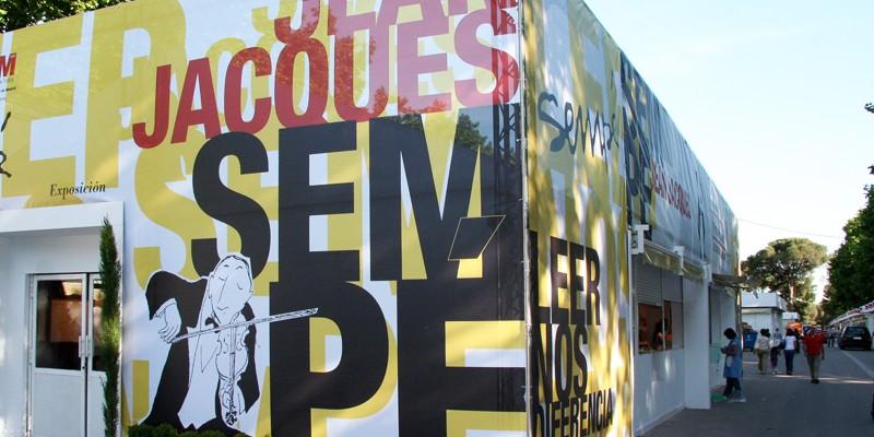 Exposición Sempe Feria Libro Madrid-1. Diseño gráfico, A. Alejandro Lopez Martinez