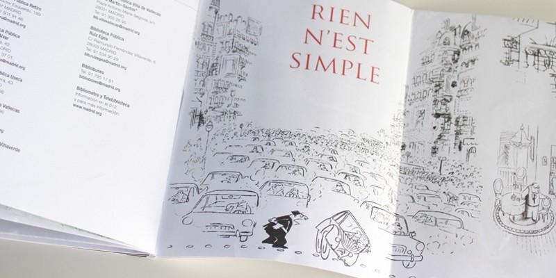 Exposición Sempe Feria Libro Madrid-10. Diseño gráfico, A. Alejandro Lopez Martinez