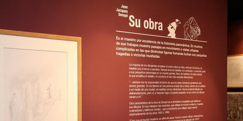 Exposición Sempe Feria Libro Madrid-2. Diseño gráfico, A. Alejandro Lopez Martinez