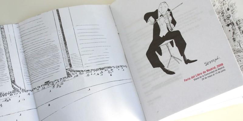 Exposición Sempe Feria Libro Madrid-7. Diseño gráfico, A. Alejandro Lopez Martinez
