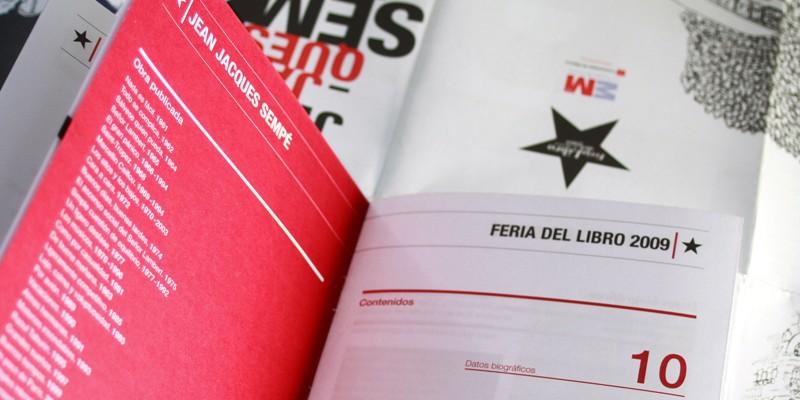 Exposición Sempe Feria Libro Madrid-8. Diseño gráfico, A. Alejandro Lopez Martinez