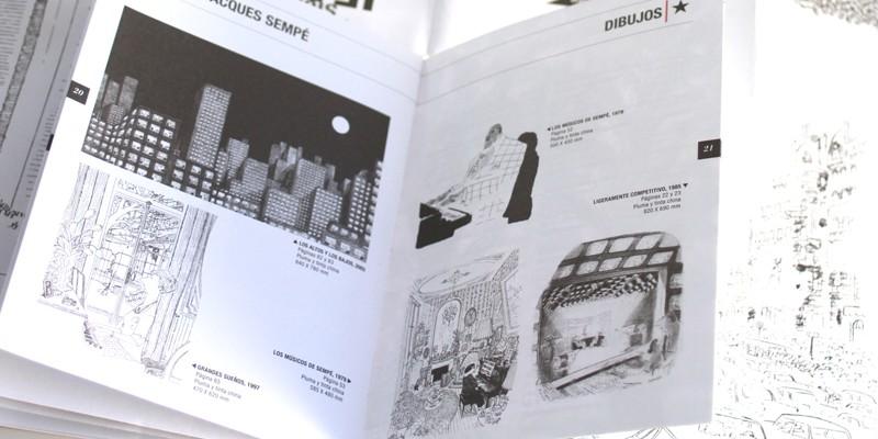 Exposición Sempe Feria Libro Madrid-9. Diseño gráfico, A. Alejandro Lopez Martinez