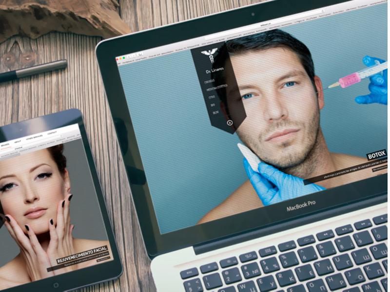 http://www.drlinares.es. Diseño gráfico, A. Alejandro Lopez Martinez