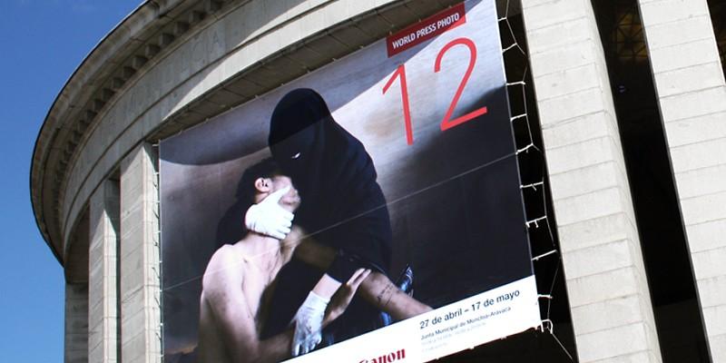 World Press Photo edición Madrid 2012. Diseño gráfico, A. Alejandro Lopez Martinez