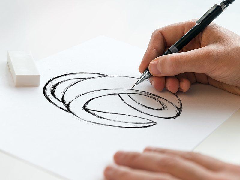 Belsound Grupo GN dibujo logotipo Diseño gráfico Alejandro Lopez