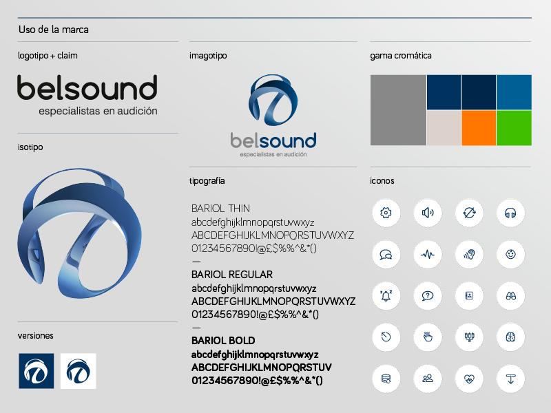 Belsound-Manual de Marca e Identidad gráfica. Alejandro Lopez