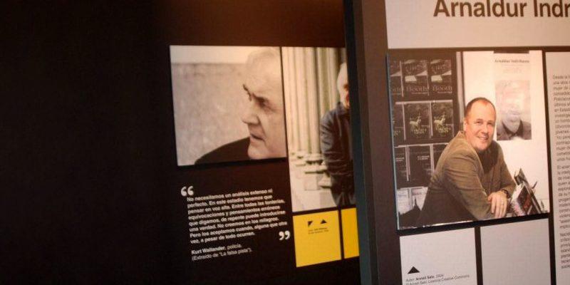 Pabellón Feria del Libro de Madrid. Novela Negra Nórdica 6. Diseño gráfico, A. Alejandro Lopez Martinez