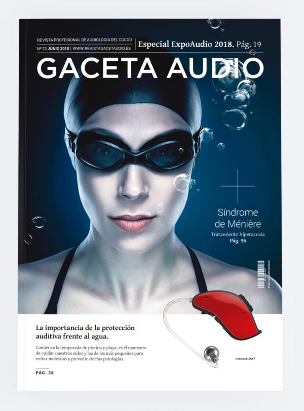 Gaceta Audio 22, portada, Alejandro Lopez Diseñador gráfico