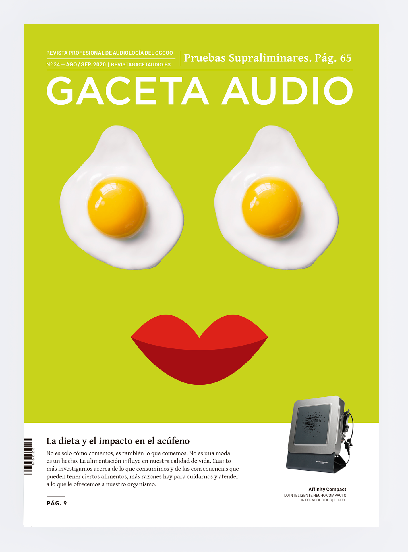 Portada Gaceta Audio 34
