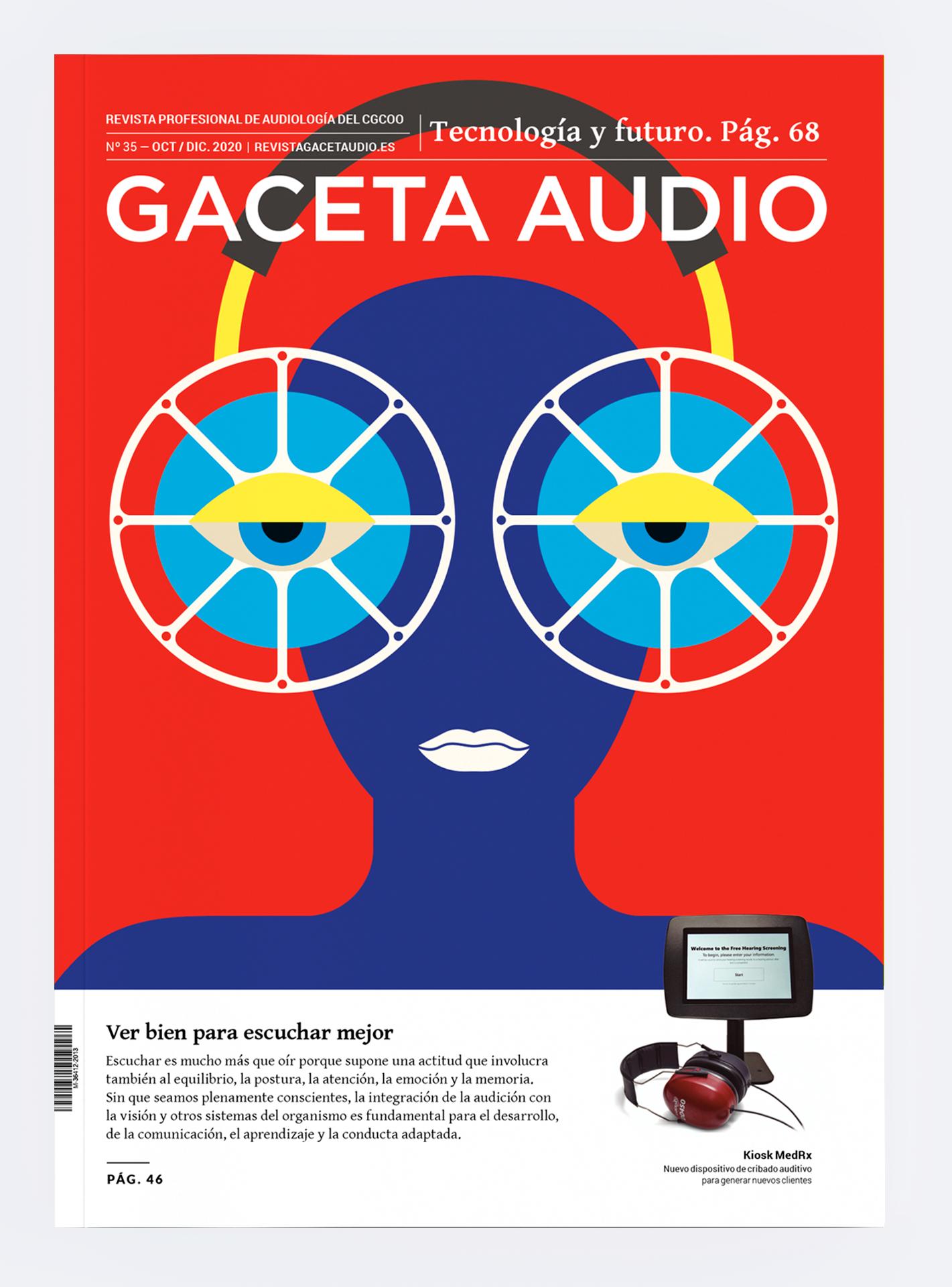Portada Gaceta Audio 35