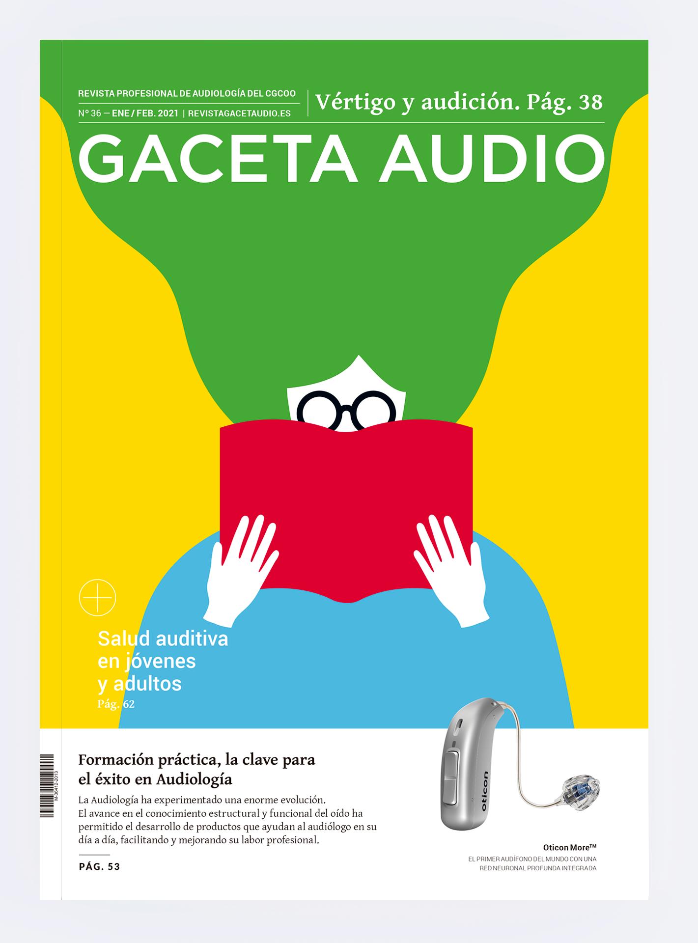 Portada Revista Gaceta Audio 36